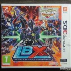 Videojuegos y Consolas: LBX LITTLE BATTLE EXPERIENCE NINTENDO 3DS NUEVO PRECINTADO A ESTRENAR PAL ESPAÑA. Lote 119326847