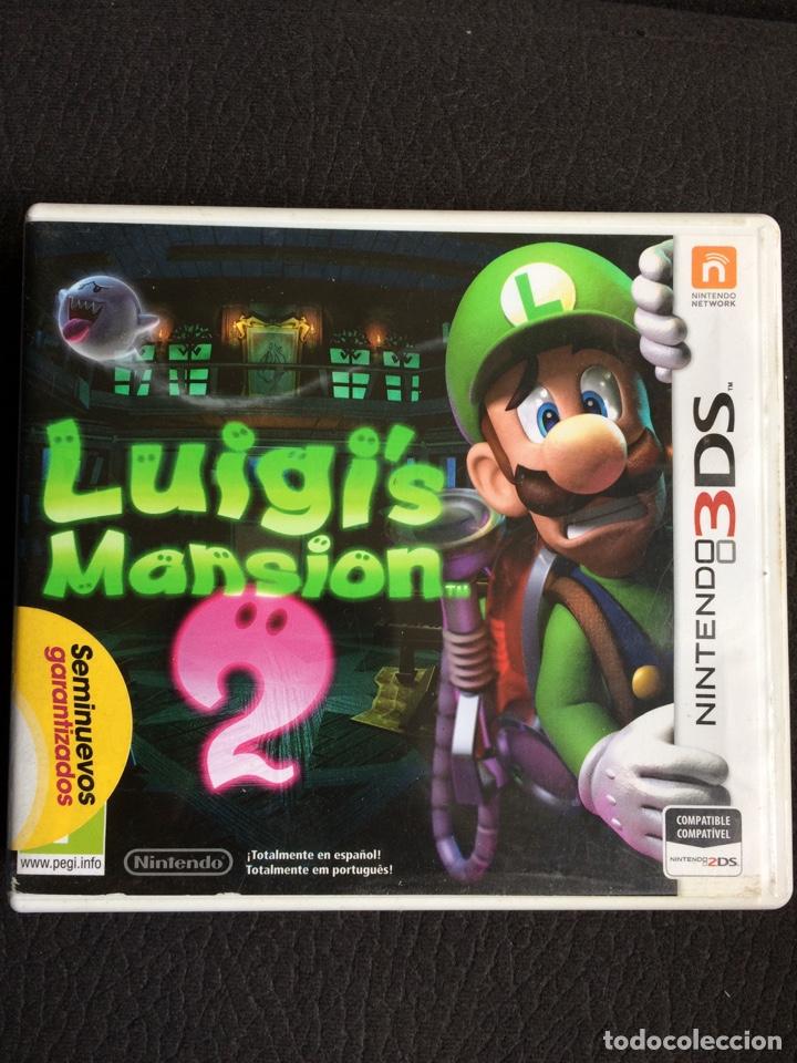Juego Luigi S Mansion 2 Nintendo 3 Ds Compa Comprar