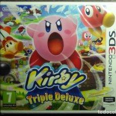 Videojuegos y Consolas: - PRECINTADO - KIRBY TRIPLE DELUXE PARA LA NINTENDO 3DS PAL ESPAÑA NUEVO - PRECINTADO -. Lote 120141467