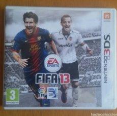 Videojuegos y Consolas: FIFA 13 EA SPORTS - NINTENDO 3DS. Lote 121971250