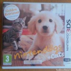 Videojuegos y Consolas: NINTENDOGS + CATS - NINTENDO 3DS. Lote 121971915