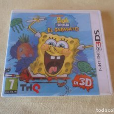 Videojuegos y Consolas: JUEGO CONSOLA NINTENDO 3DS - BOB ESPONJA EL GARABATO. Lote 122603343
