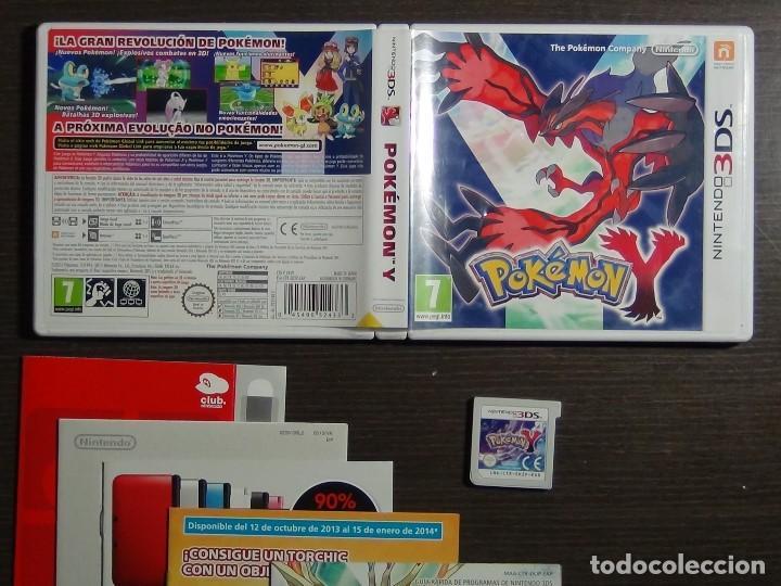 Juego Nintendo 3ds Pokemon Y Comprar Videojuegos Y Consolas
