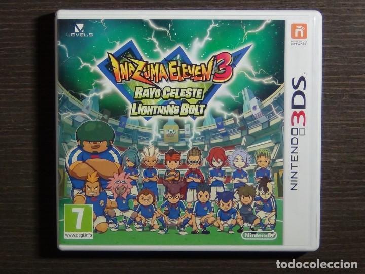 Juego Nintendo 3ds Inazuma Eleven 3 Comprar Videojuegos Y