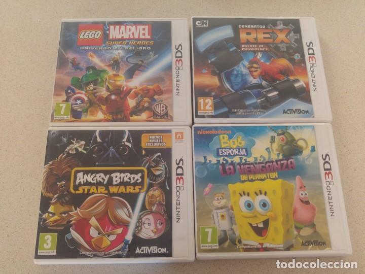 Lote 4 Juegos Nintendo 3ds Nds Comprar Videojuegos Y Consolas