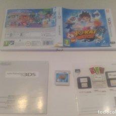 Videojuegos y Consolas: YO-KAI WATCH N3DS NINTENDO 3DS PAL-ESPAÑA. Lote 131780794