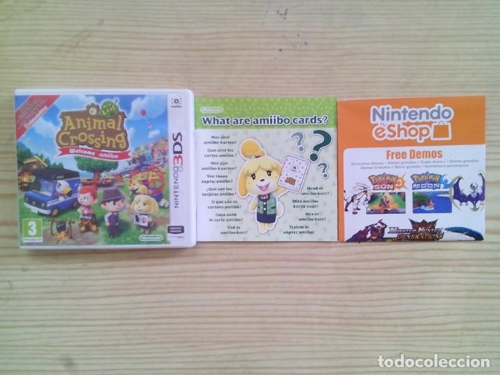 Nintendo 3ds Animal Crossing Welcome Amiibo C Comprar