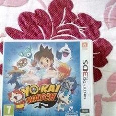 Videojuegos y Consolas: YO-KAI WATCH 3DS. Lote 132993782