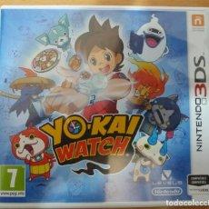 Videojuegos y Consolas: YO-KAI WATCH YOKAI NINTENDO 3DS COMPLETO COMO NUEVO EDICION ESPAÑOLA PAL ESPAÑA. Lote 133203018