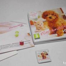 Videojuegos y Consolas: NINTENDOGS + CATS ( CANICHE ) ( NINTENDO 2DS -3DS ). Lote 133213926