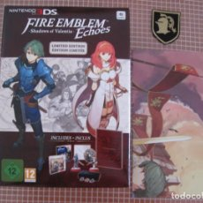 Videojuegos y Consolas: 3DS FIRE EMBLEM ECHOES LIMITED EDITION PAL EUROPA NINTENDO 3DS + EXTRAS. Lote 133254870