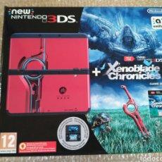 Videojuegos y Consolas: CONSOLA NEW NINTENDO 3DS EDICIÓN XENOBLADE CHRONICLES PAL VERSION NUEVA. Lote 133434366