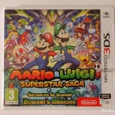 Videojuegos y Consolas: NINTENDO 3DS - MARIO & LUIGI SUPERSTAR SAGA + SECUACES DE BOWSER - NUEVO PRECINTADO. Lote 133809402