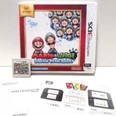 Videojuegos y Consolas: MARIO & LUIGI DREAM TEAM BROS. NINTENDO 3DS. Lote 135425898