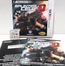 Videojuegos y Consolas: TOM CLANCY'S SPLINTER CELL 3D NINTENDO 3DS. Lote 135426134