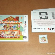 Videojuegos y Consolas: ANIMAL CROSSING : HAPPY HOME DESIGNER PARA NINTENDO 3DS, PAL. Lote 135536050