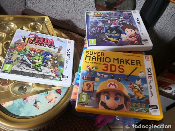 3 Cajas Para Juegos Nintendo 3ds Comprar Videojuegos Y Consolas
