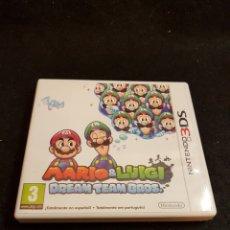Videojuegos y Consolas: NINTENDO 3DS MARIO & LUIGI DREAM TEAM BROS. Lote 139295542