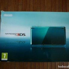 Videojuegos y Consolas: CAJA VACÍA NINTENDO 3DS. CONSOLA. CAJA AZUL.. Lote 141206894
