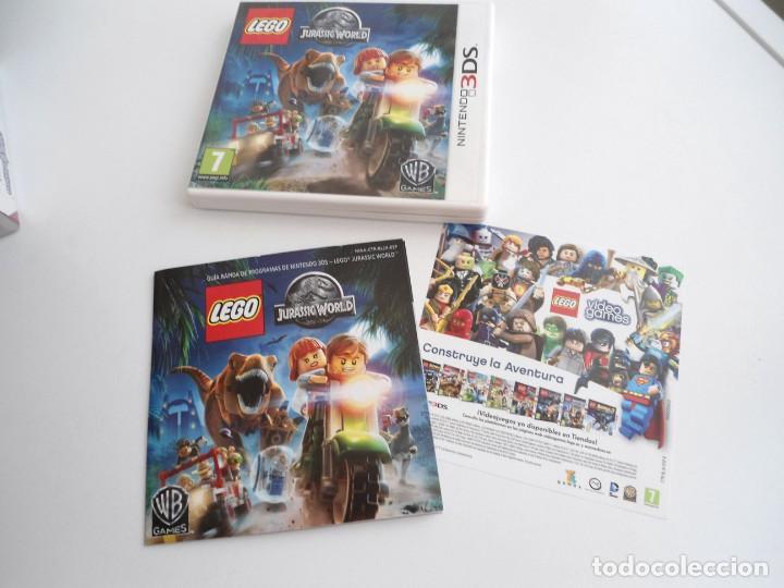 LEGO JURASSIC WORLD - NINTENDO 3DS - COMPLETO CON INSTRUCCIONES - PERFECTO ESTADO (Juguetes - Videojuegos y Consolas - Nintendo - 3DS)
