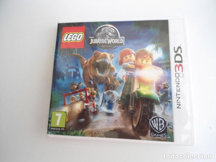 Videojuegos y Consolas: LEGO JURASSIC WORLD - NINTENDO 3DS - COMPLETO CON INSTRUCCIONES - PERFECTO ESTADO - Foto 2 - 143350914
