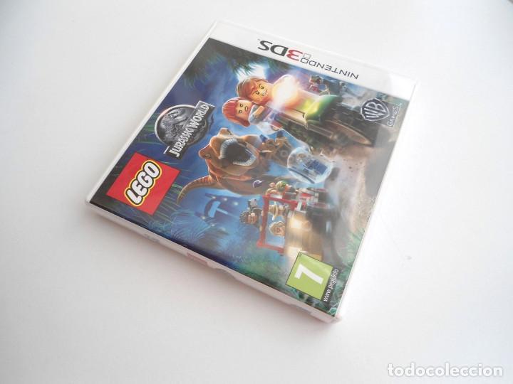 Videojuegos y Consolas: LEGO JURASSIC WORLD - NINTENDO 3DS - COMPLETO CON INSTRUCCIONES - PERFECTO ESTADO - Foto 3 - 143350914