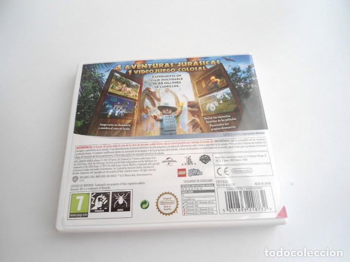 Videojuegos y Consolas: LEGO JURASSIC WORLD - NINTENDO 3DS - COMPLETO CON INSTRUCCIONES - PERFECTO ESTADO - Foto 4 - 143350914