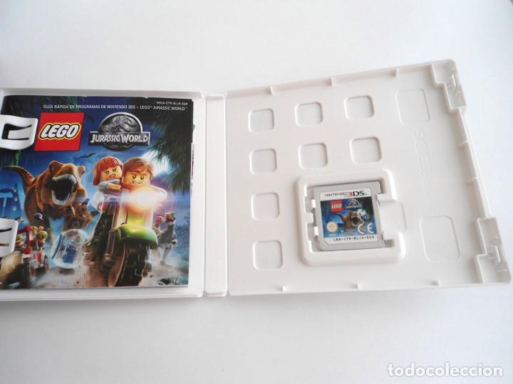 Videojuegos y Consolas: LEGO JURASSIC WORLD - NINTENDO 3DS - COMPLETO CON INSTRUCCIONES - PERFECTO ESTADO - Foto 5 - 143350914