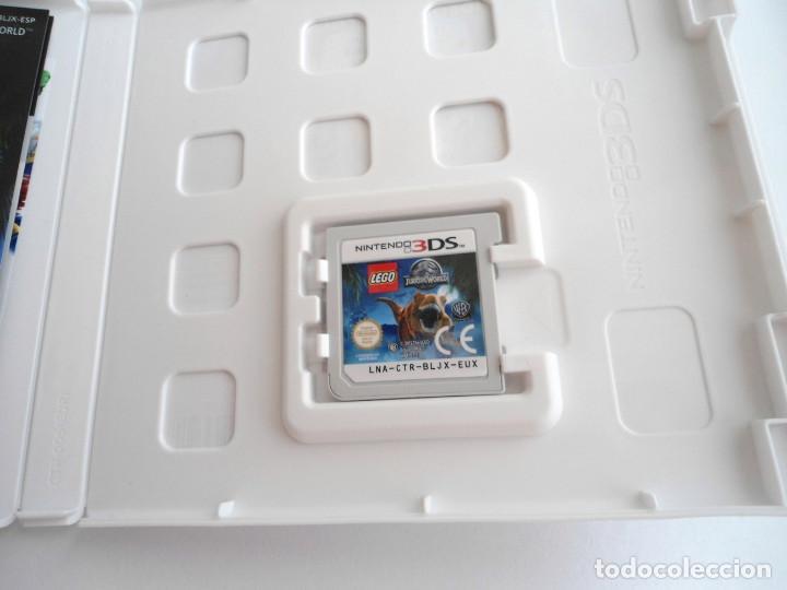 Videojuegos y Consolas: LEGO JURASSIC WORLD - NINTENDO 3DS - COMPLETO CON INSTRUCCIONES - PERFECTO ESTADO - Foto 6 - 143350914