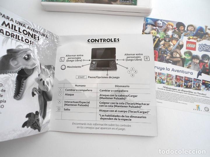 Videojuegos y Consolas: LEGO JURASSIC WORLD - NINTENDO 3DS - COMPLETO CON INSTRUCCIONES - PERFECTO ESTADO - Foto 7 - 143350914