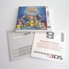 Videojuegos y Consolas: POKEMON MUNDO MEGAMISTERIOSO - NINTENDO 3DS - COMPLETO CON INSTRUCCIONES - PERFECTO ESTADO. Lote 143351150