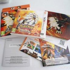 Videogiochi e Consoli: POKEMON SOL COMPLETO CON CAJA EDICION ESPECIAL DE ULTRASOL - NINTENDO 3DS - PERFECTO ESTADO. Lote 287689318