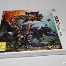 Videojuegos y Consolas: MONSTER HUNTER GENERATIONS (NINTENDO 3DS - 2DS) PRECINTADO!. Lote 144649098