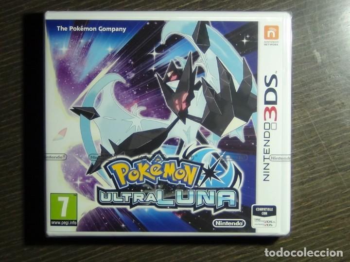 NINTENDO 3DS POKÉMON ULTRA LUNA - PRECINTADO!!!! (Juguetes - Videojuegos y Consolas - Nintendo - 3DS)