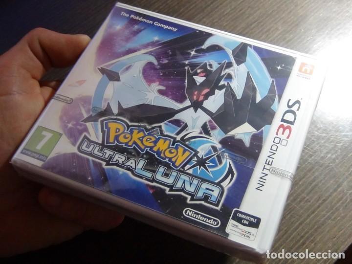 Videojuegos y Consolas: Nintendo 3DS Pokémon Ultra Luna - Precintado!!!! - Foto 6 - 145318254