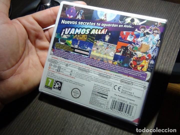 Videojuegos y Consolas: Nintendo 3DS Pokémon Ultra Luna - Precintado!!!! - Foto 7 - 145318254