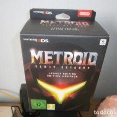 Videojuegos y Consolas: 3DS METROID SAMUS RETURNS EDICIÓN LEGACY NUEVO. Lote 148154714