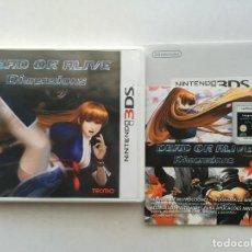 Videojuegos y Consolas: DEAD OR ALIVE DIMENSIONS NINTENDO 3DS N3DS KREATEN 2DS XL NEW. Lote 151547302