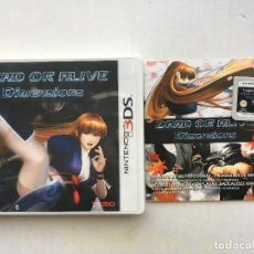 Videojuegos y Consolas: DEAD OR ALIVE DIMENSIONS NINTENDO 3DS N3DS KREATEN 2DS XL NEW. Lote 151547374