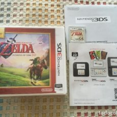 Videojuegos y Consolas: THE LEGEND OF ZELDA OCARINA OF TIME 3D NINTENDO 3DS N3DS 3D KREATEN. Lote 154914722