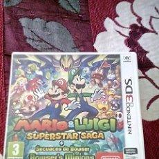 Videojuegos y Consolas: MARIO Y LUIGI SUPERSTARS SAGA 3DS. Lote 156047561