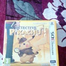 Videojuegos y Consolas: DETECTIVE PIKACHU 3DS. Lote 156047790