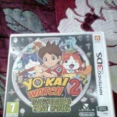 Videojuegos y Consolas: YO-KAI WATCH 2 3DS. Lote 156047876