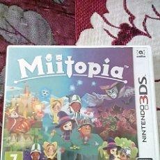 Videojuegos y Consolas: MIITOPIA 3DS. Lote 156048082