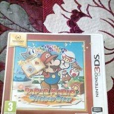 Videojuegos y Consolas: PAPER MARIO 3DS. Lote 156048197