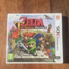 Videojuegos y Consolas: ZELDA TRI FORCE HEROES PAL ESP NINTENDO 3DS. Lote 156717558