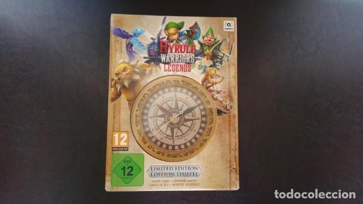 ZELDA HYRULE WARRIORS LEGENDS NINTENDO 3DS PAL ESPAÑA EDICION LIMITADA PRECINTADO (Juguetes - Videojuegos y Consolas - Nintendo - 3DS)
