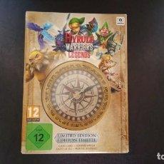 Videojuegos y Consolas: ZELDA HYRULE WARRIORS LEGENDS NINTENDO 3DS PAL ESPAÑA EDICION LIMITADA PRECINTADO. Lote 158014318