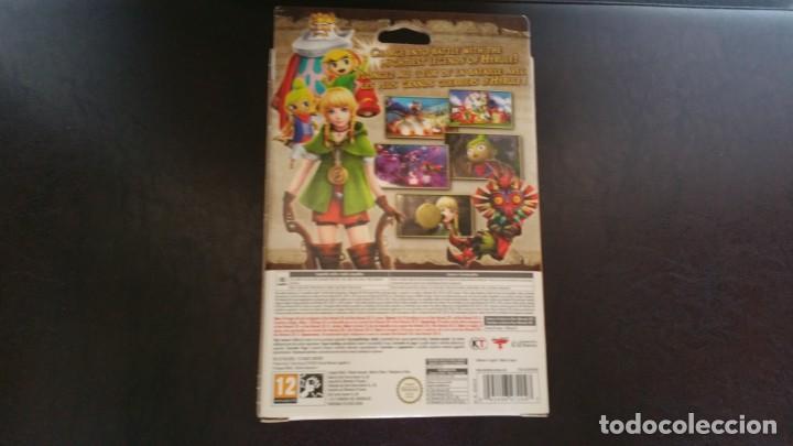 Videojuegos y Consolas: ZELDA HYRULE WARRIORS LEGENDS NINTENDO 3DS PAL ESPAÑA EDICION LIMITADA PRECINTADO - Foto 2 - 158014318