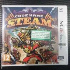 Videojuegos y Consolas: CODE NAME S.T.E.A.M NINTENDO 3DS PAL ESPAÑA NUEVO PRECINTADO. Lote 158821430